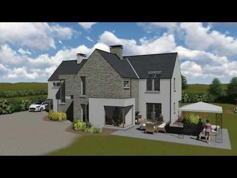 Irish House Plans mod079-KearneyC - YouTube | House design ...