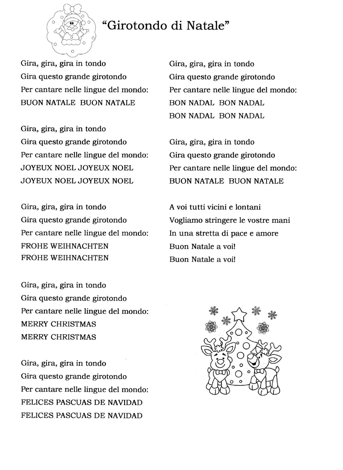 La Maestra Linda Recita Natale Canzoni Natal