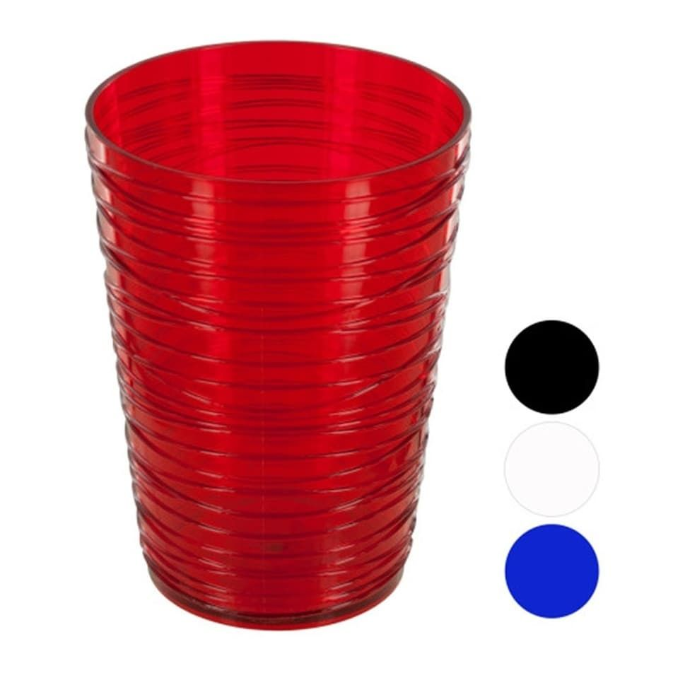 Bulk Buys 16 Oz Small Modern Style Durable Plastic Tumbler 24 Pack Multicolor In 2020 Plastic Tumblers Modern Style Juice Glass Set