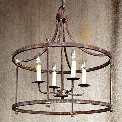Our Rustic Chandelier Is A Pendant Light With Farmhouse French Charm Use This To Highlight Your Favorite Es
