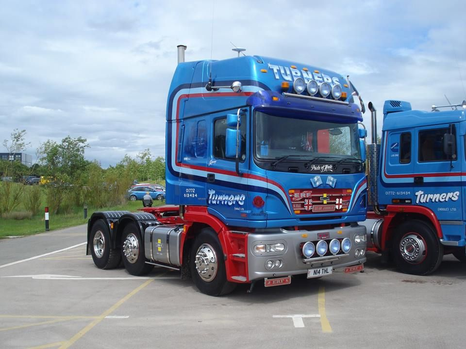 ERF TRUCK BRITISH Trucks, Lorry, Heavy equipment