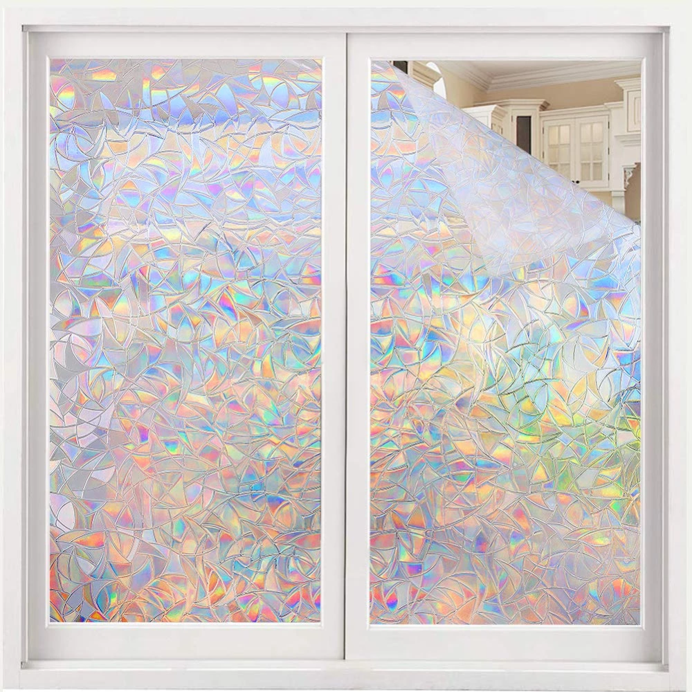 Volcanics Window Privacy Film Static Window Clings Vinyl 3d Window