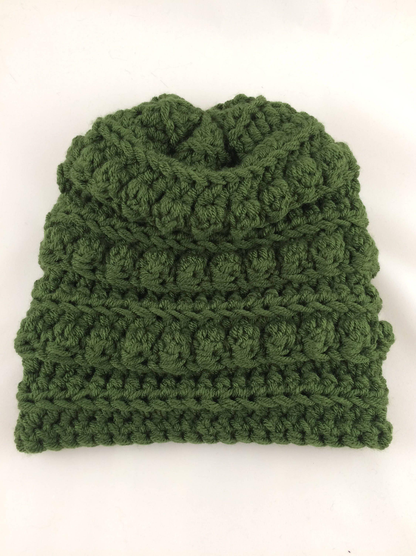 Bobble Hat - Bobble Toboggan - Womens Winter Hat - Toboggan Hat - Winter  Fashion Hat - Bobble Beanie - Womens Hats - Crochet Winter Hat by ... 9e49f2c6620
