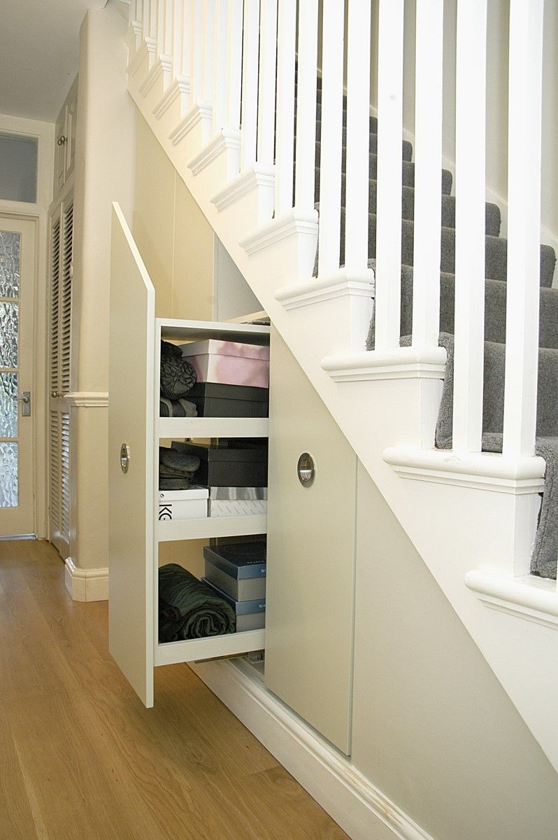 Bespoke Under Stairs Shelving: Transforming Under Stairs Area #2