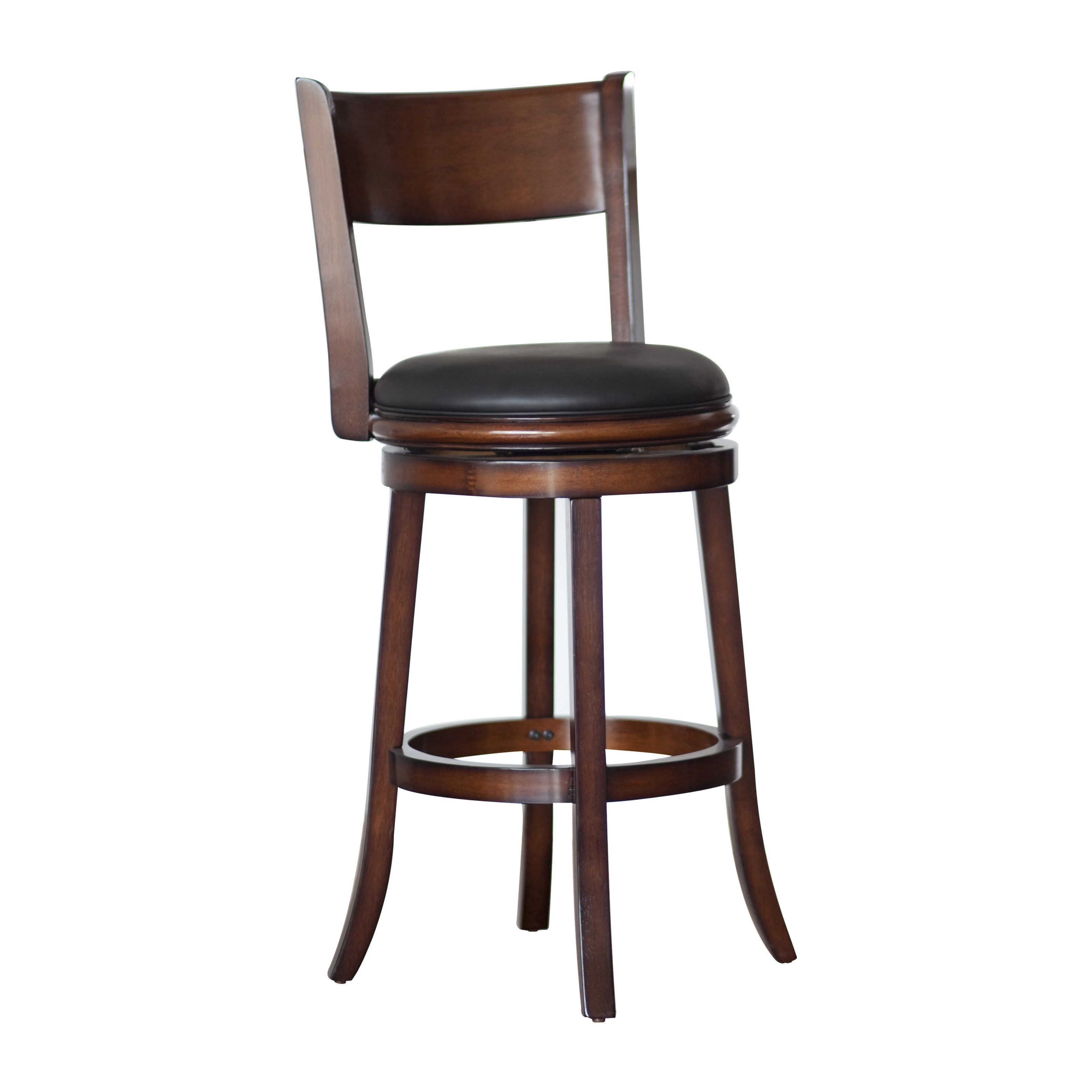 Boraam Palmetto 29 In Swivel Bar Stool Brandy Creating