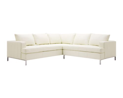 Sensational Lola 2 Piece Sectional Sofa Leather Home Leather Caraccident5 Cool Chair Designs And Ideas Caraccident5Info