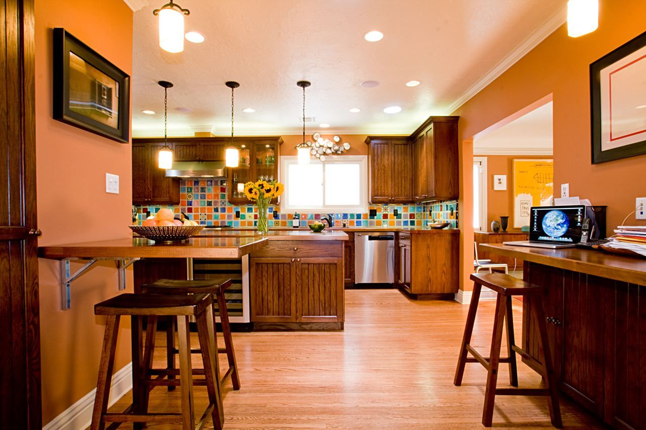 Orange Kitchens Orange Kitchens Ideas