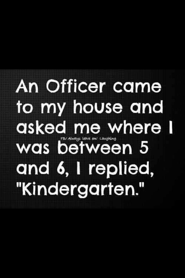 Explain The Two Meanings Implied Here Cops Humor Funny