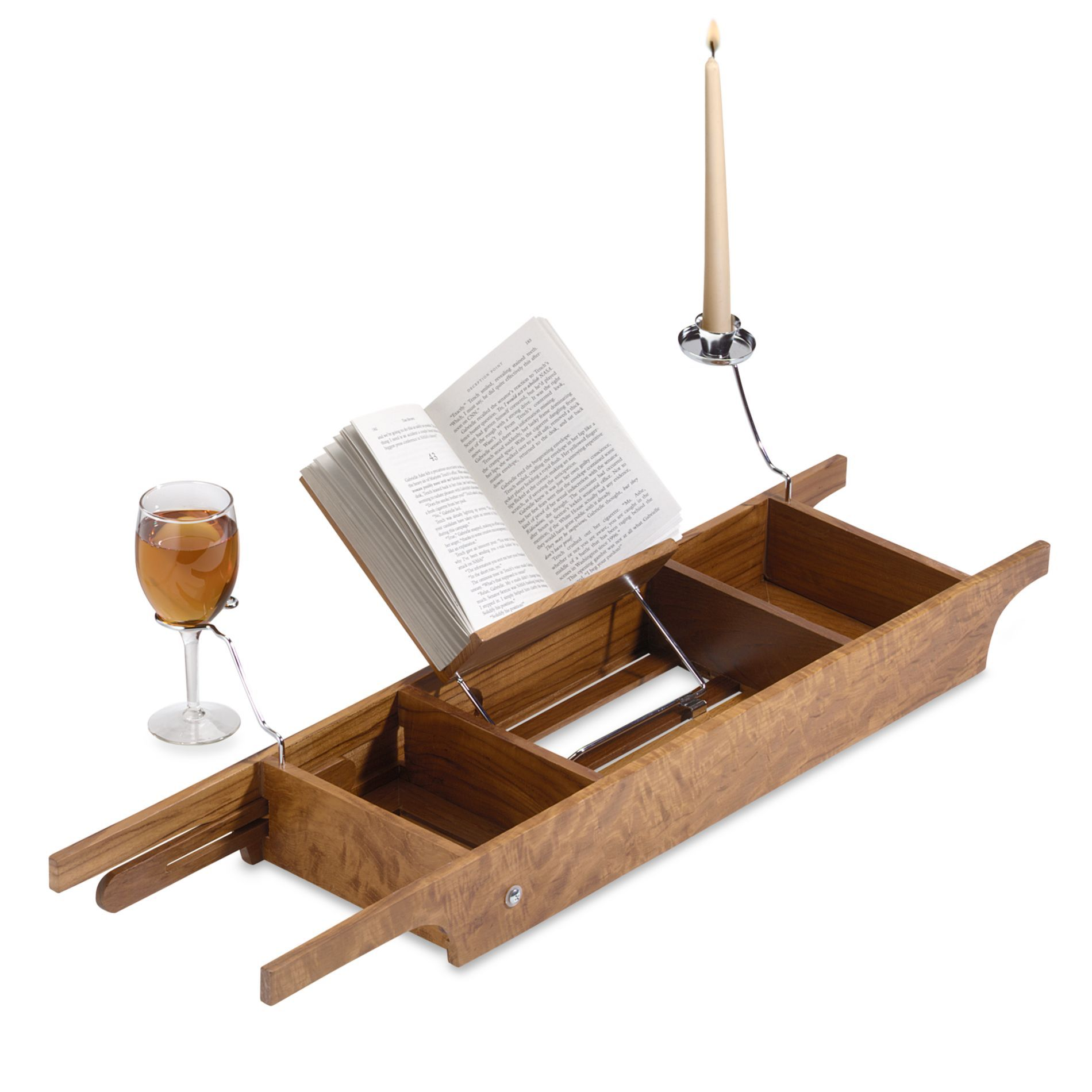 Teak Cross Tub Caddy Bedbathandbeyond Com Tub Bathtub Caddy