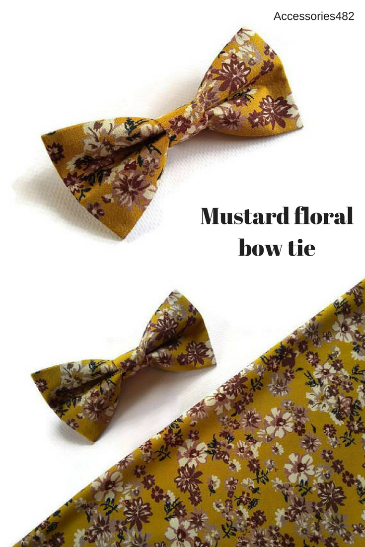22a1adba0454 Bright floral bow tie for Mexican wedding ideas for groom attire and  groomsmen outfits ring bearfer ties pocket sqaure | My Etsy Shop | Groom  attire, ...