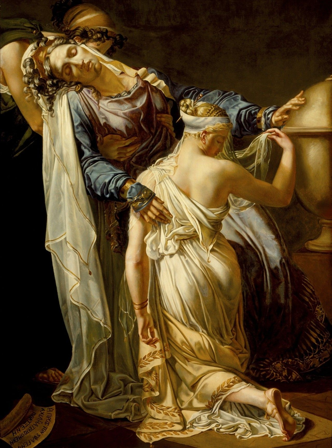 Hecuba and Polyxenaby Merry-Joseph Blondel France, after 1814 oil on canvas