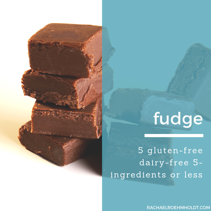 chocolate for gluten free and dairy free diet.