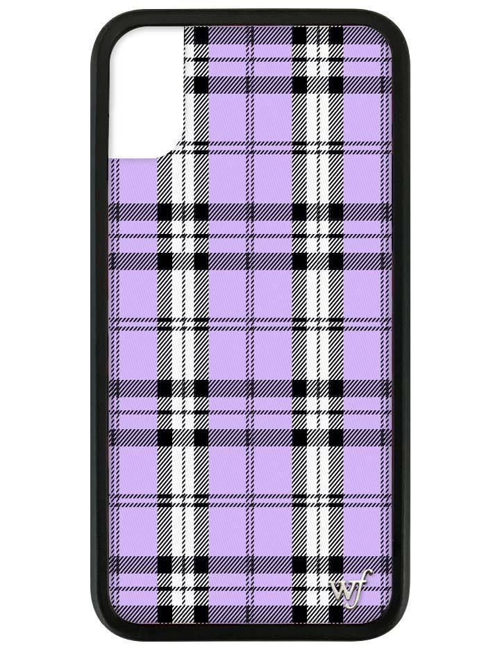 promo code cebb7 a0b44 Lavender Plaid iPhone X/Xs Case | For the Home | Wildflower phone ...