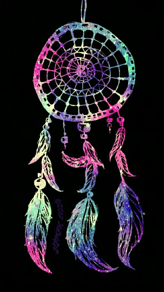 Dreamcatcher iPhone/Android galaxy wallpaper I created for ...