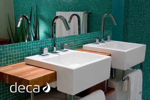 Bacha l83 de semi encastre con toallero un modelo m s de for Banos modelos nuevos