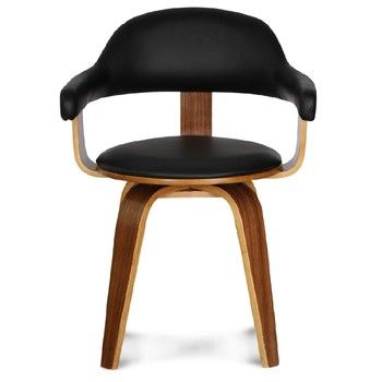 Otocna Zidle Suedoise Noire Bonami Furniture Chair Furniture Decor