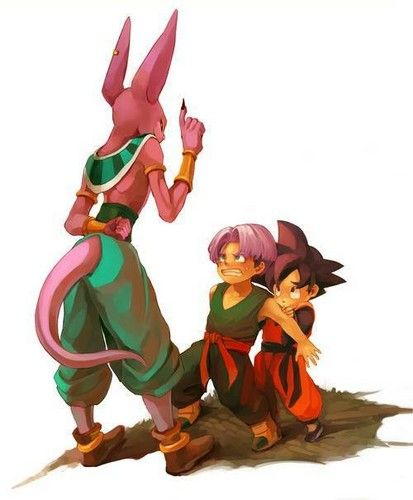 Bills with goten and trunks - dragon-ball-z Fan Art