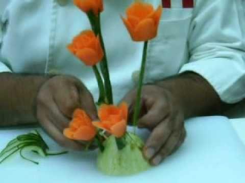 Youtube Veggie Art Food Art Food Videos Cooking En europa hay 12 subespecies, una de las cuando crece cada dos años, la zanahoria almacena alimento para la producción de flores y semillas durante su. youtube veggie art food art food