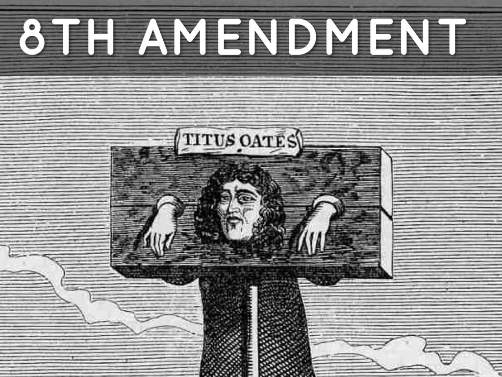 the eighth amendment to the united Definition of eighth amendment in the legal dictionary - by free online english   or magistrate abused his or her discretion in assessing them (united states v.