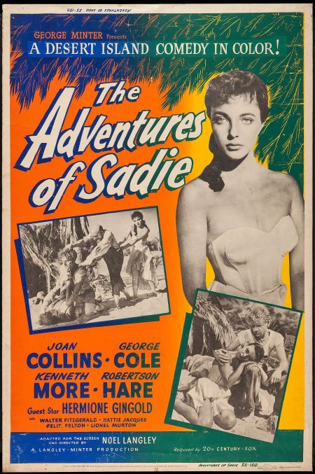 The Adventures of Sadie (20th Century Fox, 1953)  Silk Screened
