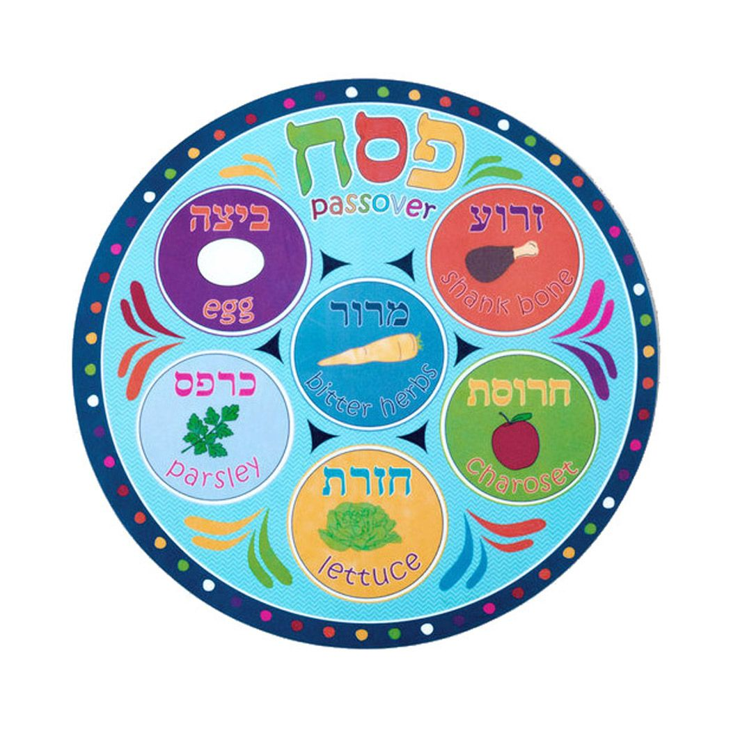 Passover Placemat For Kids