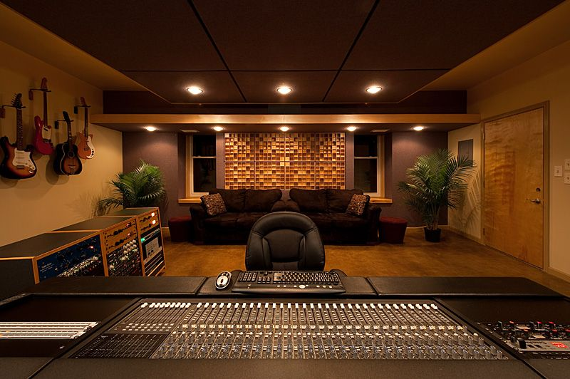 Home Recording Studio Design Ideas #9 - Recording Studio Room ...