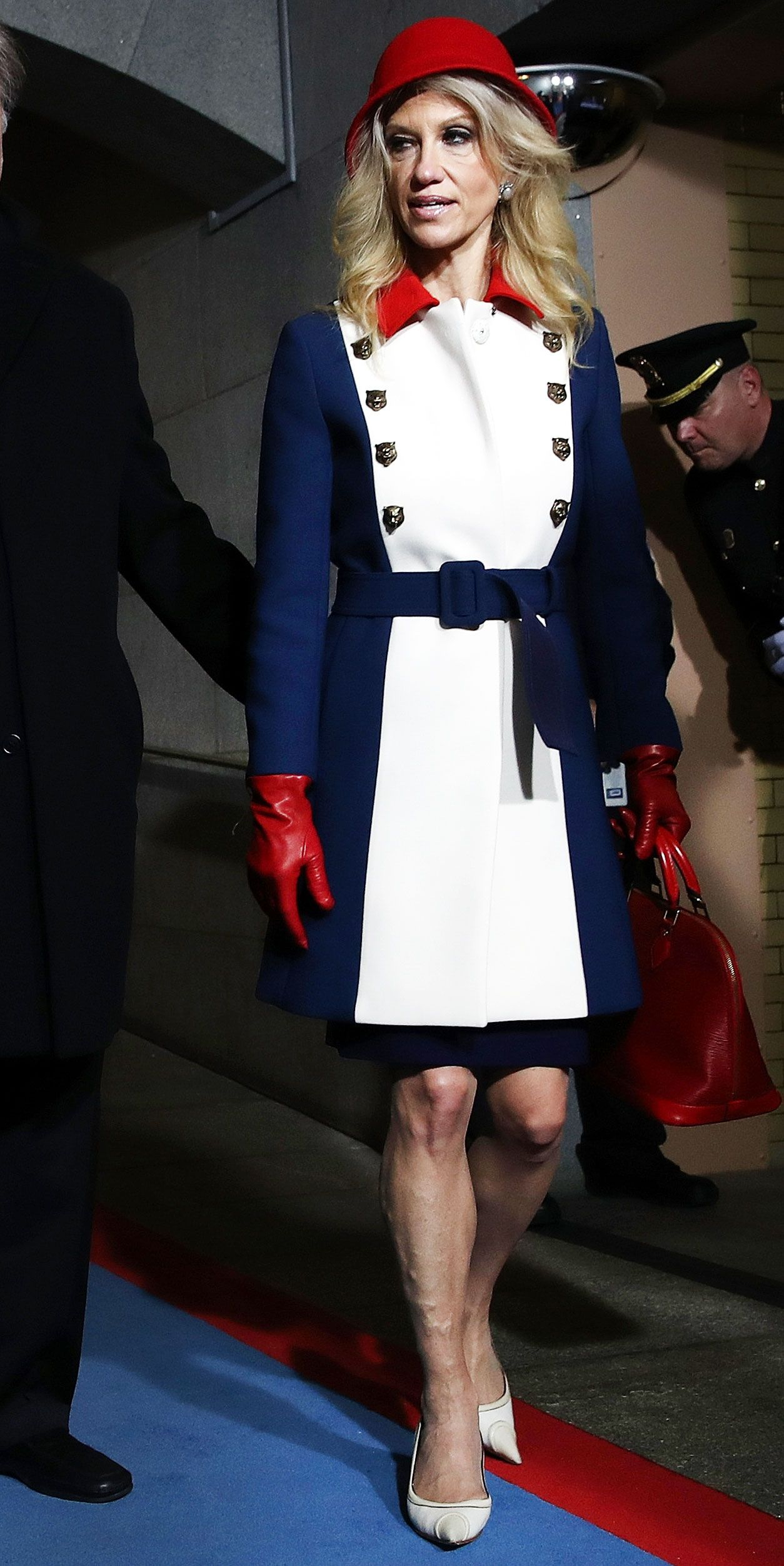 Kellyanne Conway's Inauguration Outfit Sets Twitter Abuzz ...