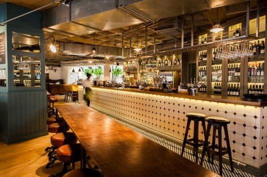 2014 Restaurant U0026 Bar Design Award Winners,Multiple Bar/Club: The Vintry  (London) / Harrison