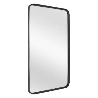 24 X 36 Rectangular Decorative Mirror With Rounded Corners Black Threshold Designed With Studio Mcgee Mirror Decor Moldings And Trim Studio Mcgee