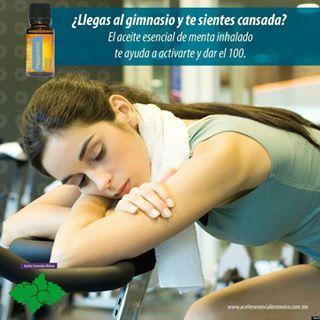 aceitesesenciales_yucatan's Instagram Photo - Tip dōTERRA  #aceitesesenciales #aceite #esencial #natural #puro #organico #doterra #menta #energia #gym