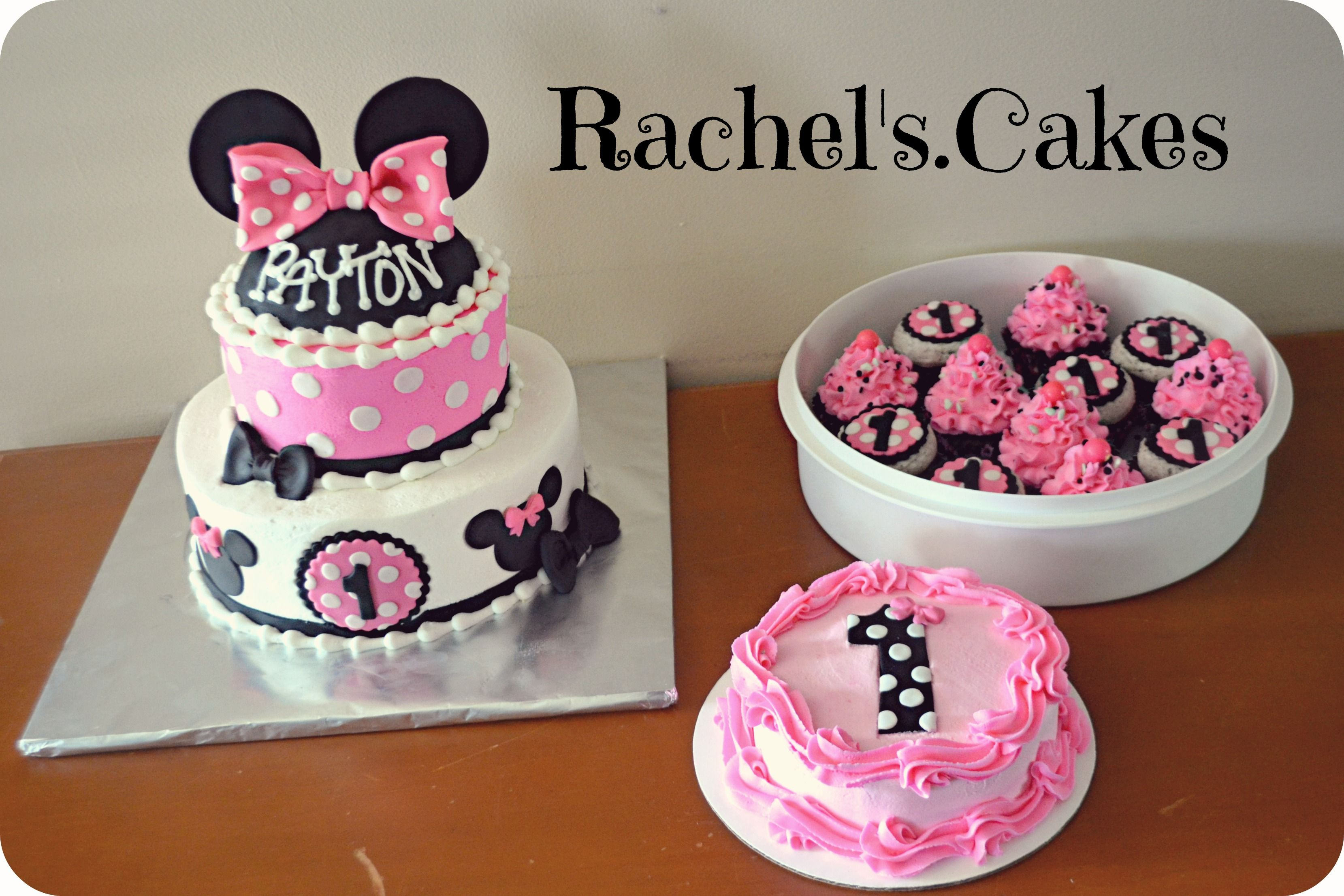 Cocina Minnie Mouse Minnie Mouse Cake My Own Cakes Pinterest Bautizo