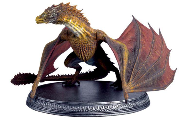 Drogo Dragon Game of Thrones Eaglemoss officiel des modèles de collection