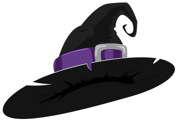Witch Hat Black And Purple Png Clipart Image Clip Art Clipart Images Witch Hat