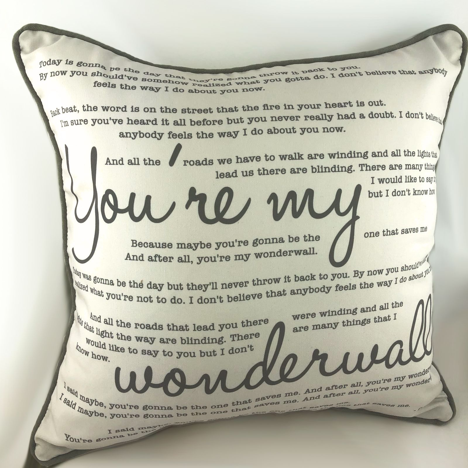Add your Photo or Text Personalised Photo Cushion 25x25cm