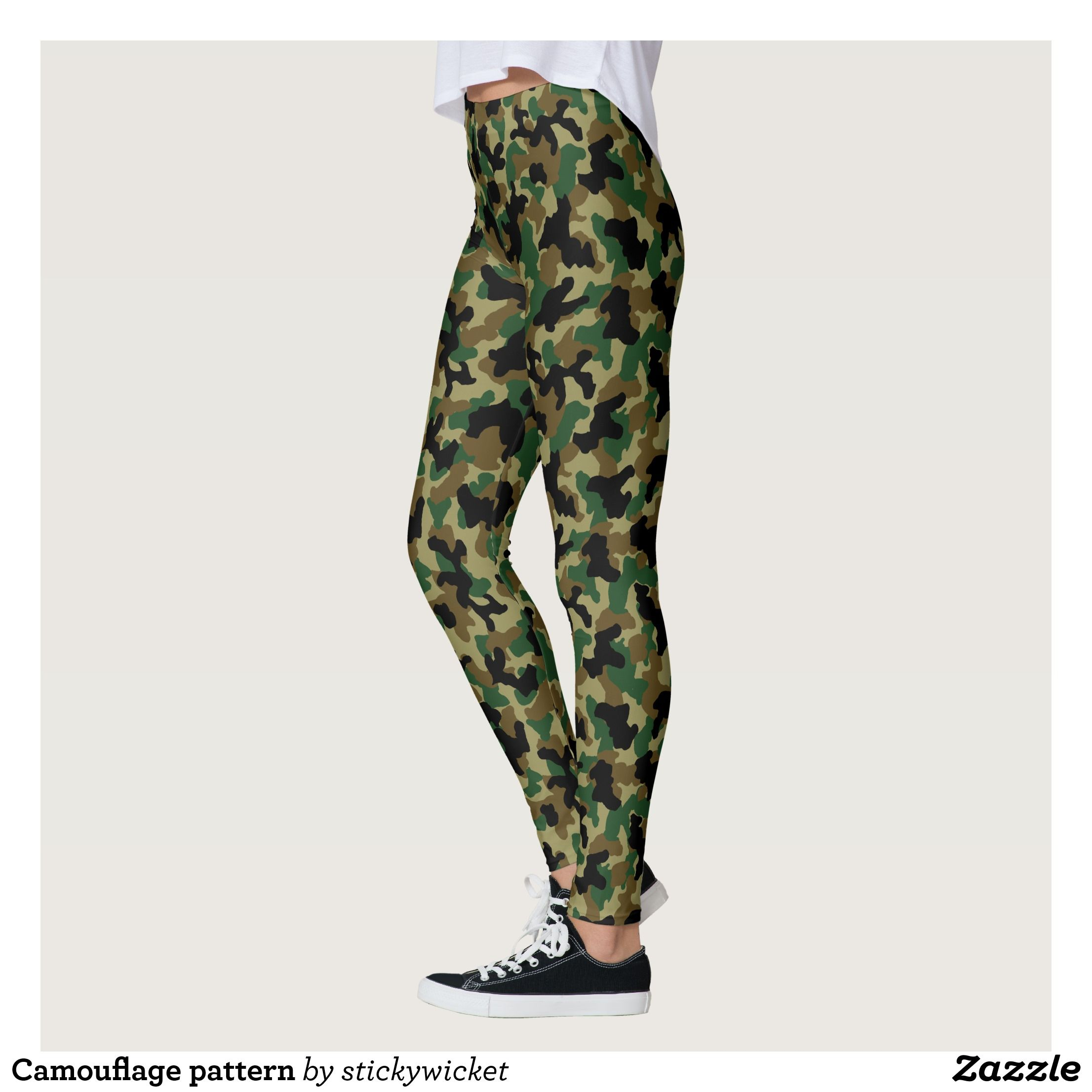 Camouflage pattern leggings Beautiful Yoga Pants