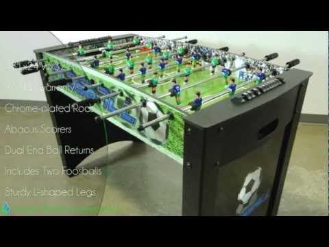 Playoff Foosball Table - YouTube