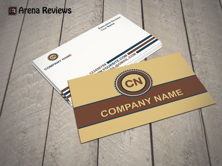 Brown white business card template visiting card design free brown white business card template visiting card design free download adobe photoshop and adobe illustrator files formats and editable reheart Gallery