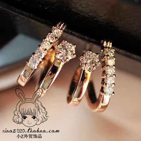 صور اكسسوارات ناعمة ضيفى لانوثتك رونقها Diamond Bracelet Diamond Earrings