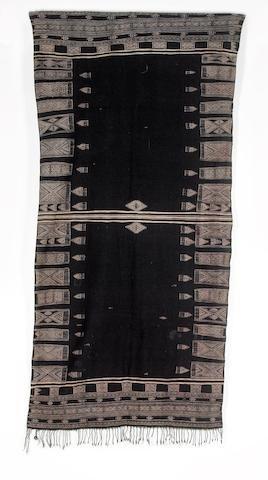A shawl Tunisia 215cm x 104cm