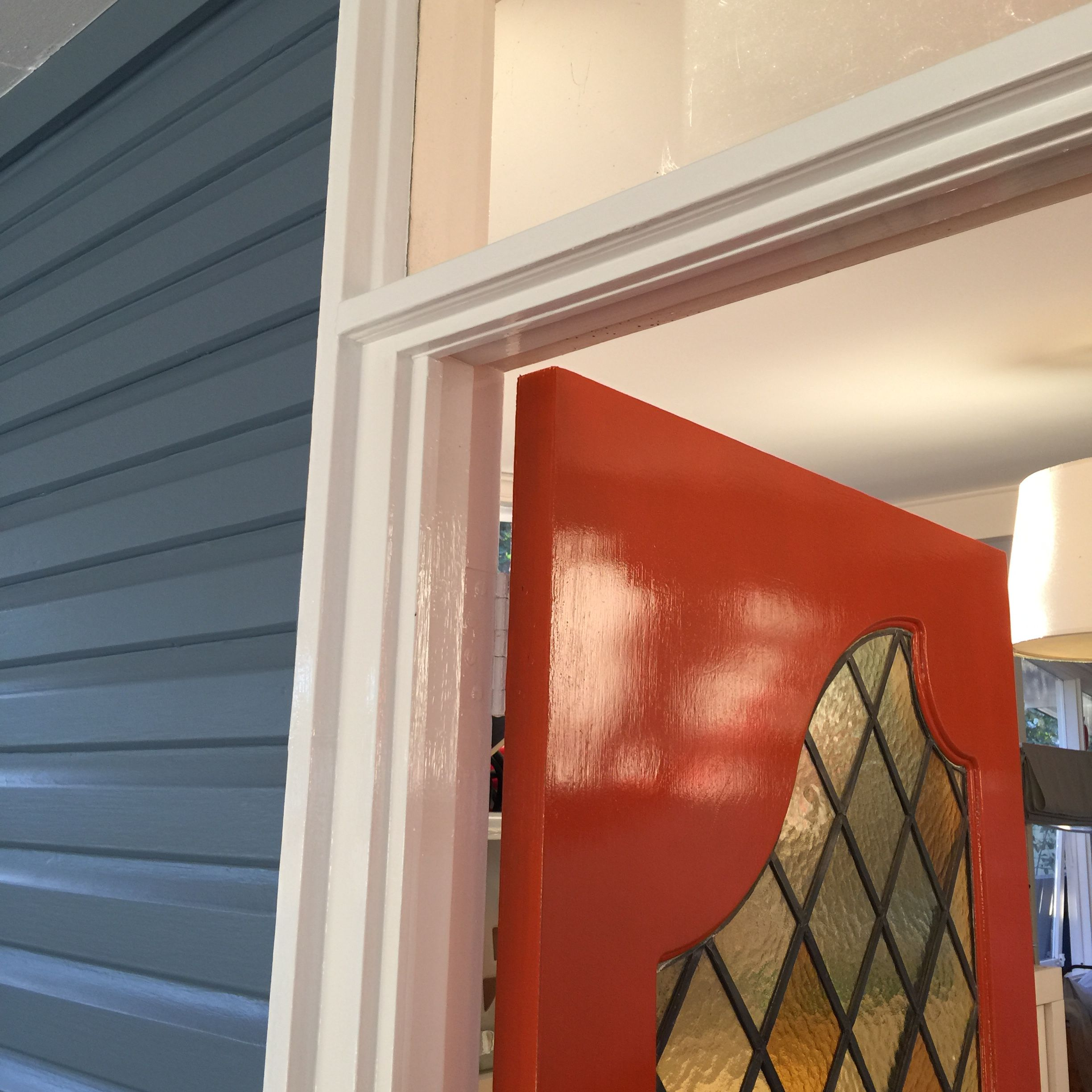 Loving Our New Colour Scheme Front Door Is Wattyl Copper Moon Weatherboards Are Dulux