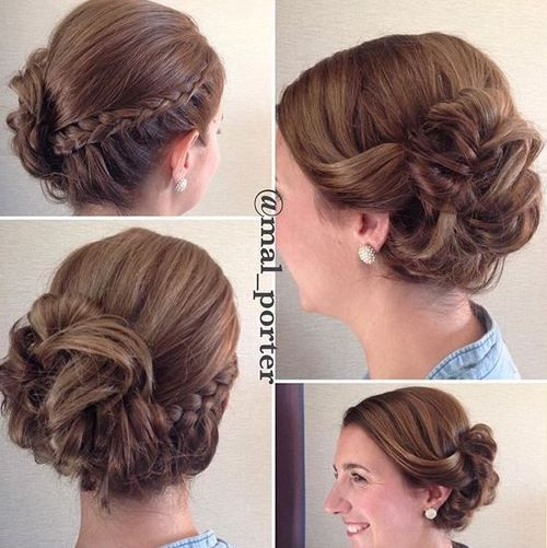 Bun Hairstyles For Curly Hair : 60 updos for short hair u2013 your creative inspiration