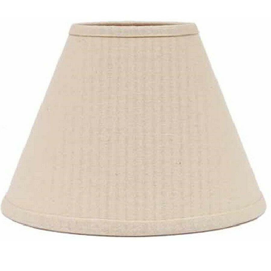 Lamp Shade 10 Inch Solid Buttermilk Cream Fabric Neutral Country Decor Ring Clip Nice Neutral Antique Lamp Shades Small Lamp Shades Shabby Chic Lamp Shades