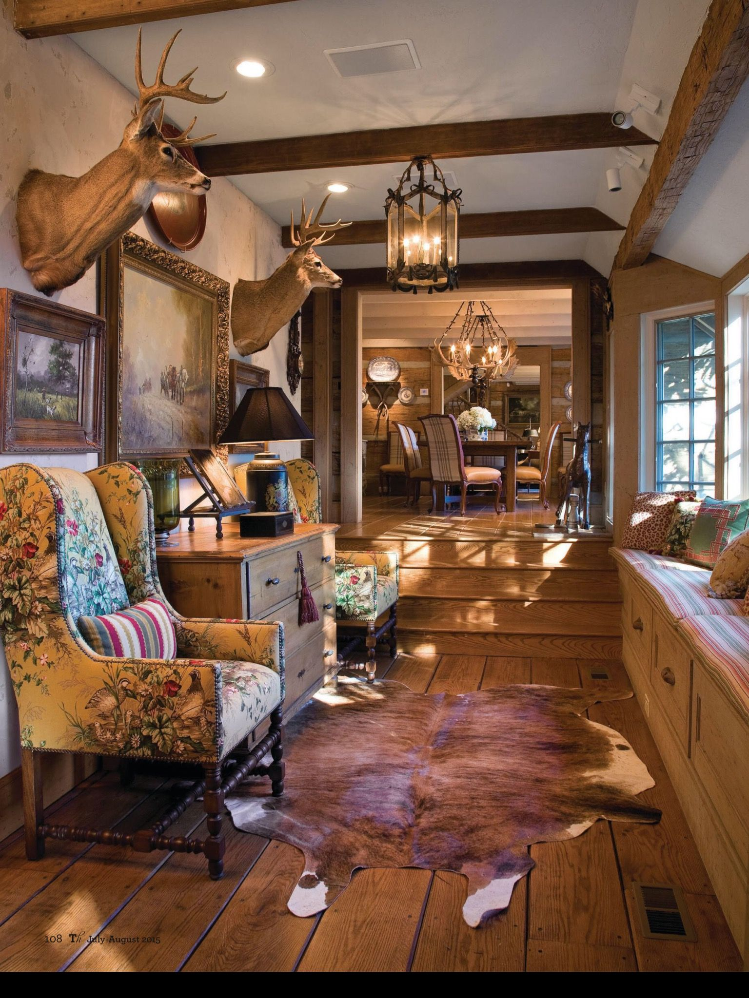 Cowboy Living Room Ideas Diy Home Decor Small How To Include Taxidermy Into Trendy ...