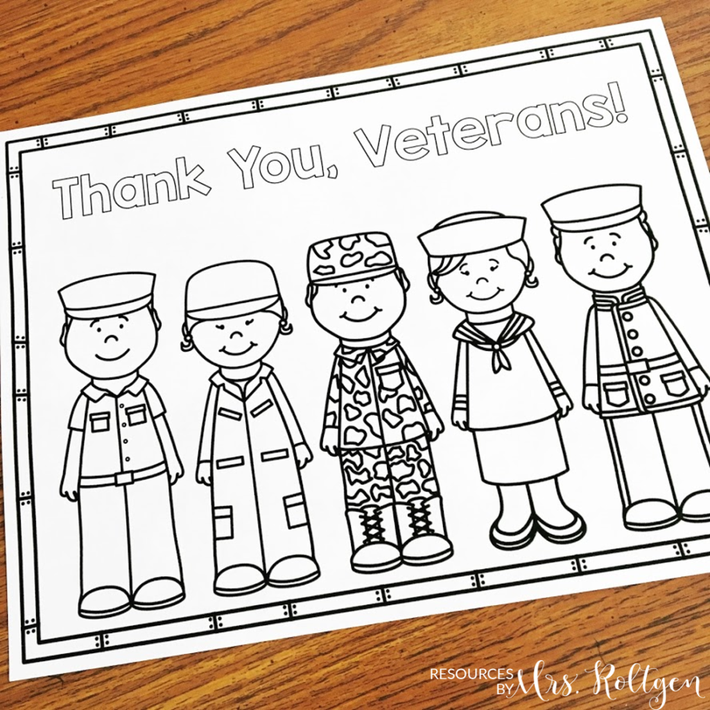 Veteran's Day Activities {Freebie Included!} #veteransdaycrafts