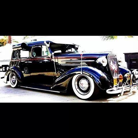1938 Chevrolet Master Deluxe Sedan Custom Cars Paint Classic