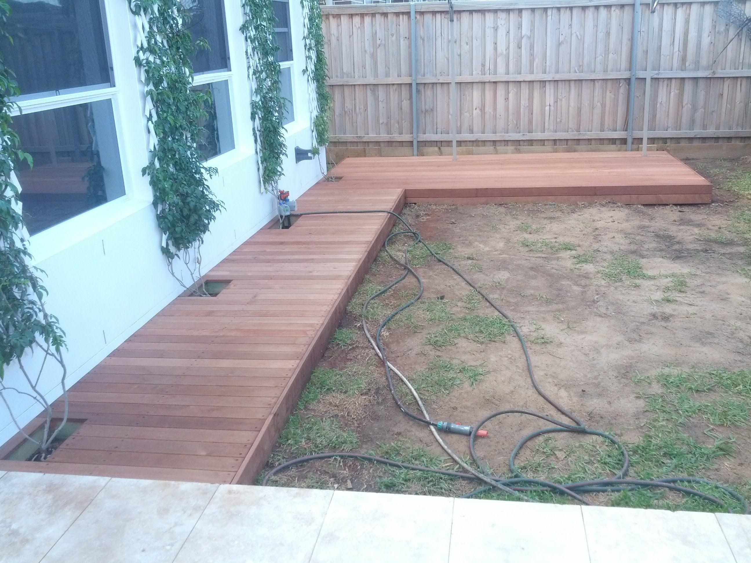 Build your own deck boardwalk pallet walkway building