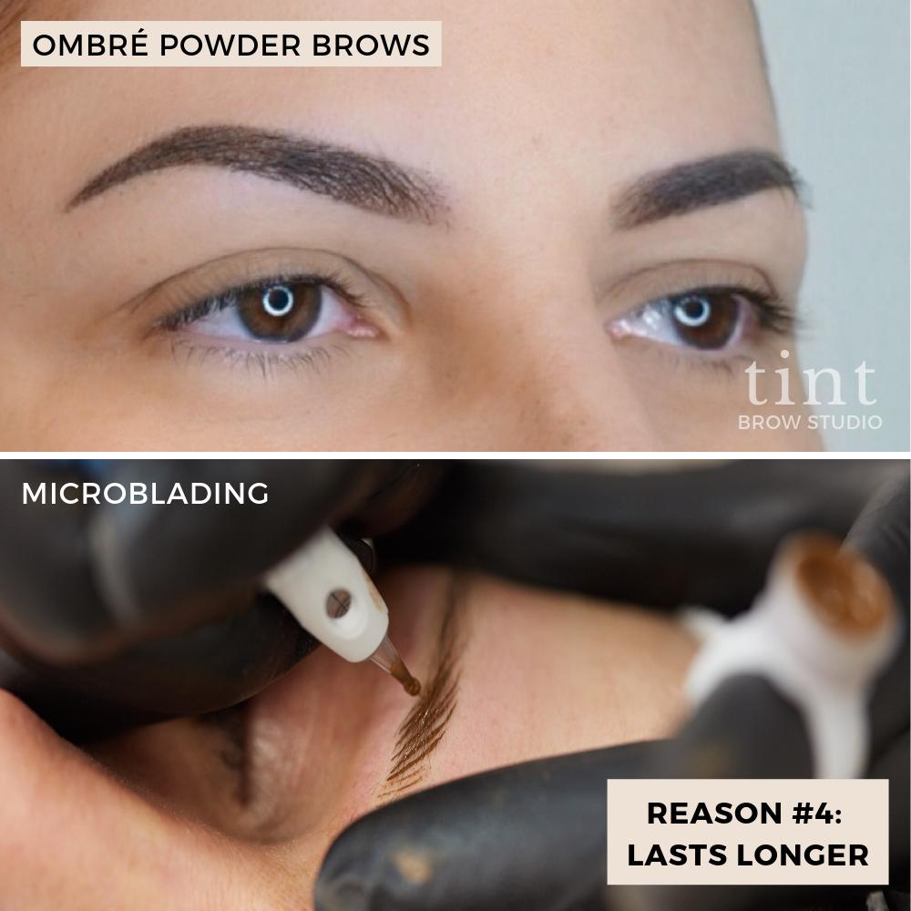 OMBRÉ POWDER BROWS Brows, Brow studio, Microblading