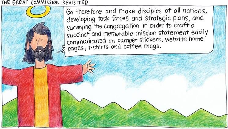 The Great Commission Revisited | Laughing in Church | Church humor