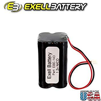 Exell Battery Baby Monitor Battery Fits and Replaces Hong