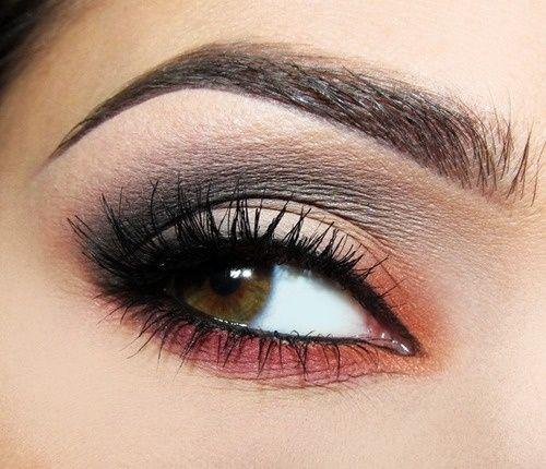 Gorgeous eye look for autumn brown-eyes